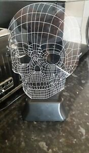 Colour Changing Skull Lamp