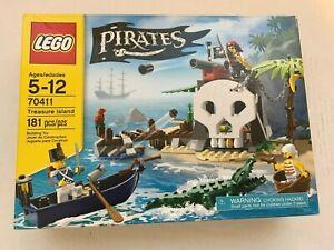 NEW LEGO PIRATES TREASURE ISLAND - 70411 - SEALED