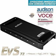 Audison AV Quattro Amplificatore Voce 4/3/2 Canali New Official Warranty Italy