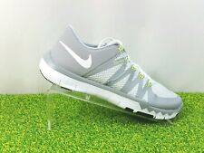 big sale f319f 6c6b9 Nike 5.0 V6 Flywire Free Trainer Shoes Gray Neon Green 719922-100 Mens Size  8.5