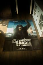 Rise Of The Planet Of The Apes A 4x6 ft French Grande Movie Poster Original 2011