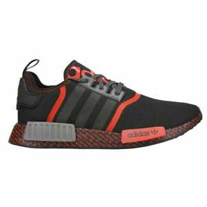 adidas Nmd_R1 Men's Sneakers (Size 9.5) Black / Red FV8516