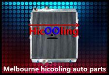 QLD GPI 3 Rows Aluminum radiator for Hilux VZN167 V6 Petrol 3.4L 1997-2004