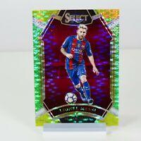 Panini Select Green Prizm 2016-2017 Lionel Messi FC Barcelona football card #286