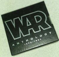 War - Anthology 1970-1994 CD Oct-1994, 2 Discs box set with book RARE