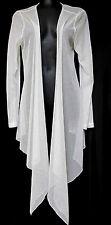 sz S / 10 BOO RADLEY Buongiorno funky white soft cardy shawl jacket NWT! rrp$89