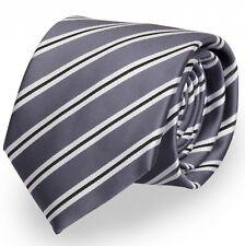 Cravatte da Fabio Farini in Grigio Nero