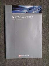 VAUXHALL ASTRA BROCHURE 1998 HATCH & ESTATE MODELS NEW ASTRA