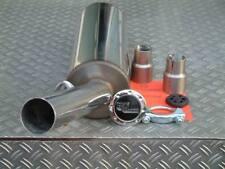 Sportendschalldämpfer Edelstahl GruppeA 63,5mm für Golf1 (BM) , Eintragungsfrei