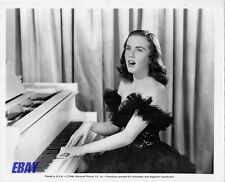 Deanna Durbin plays piano VINTAGE Photo I'll Be Yours