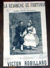 la revanche de Fortunia folie musicale partition chant 1865 victor Robillard