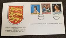 1977 QEII Silver Jubilee Jersey FDC