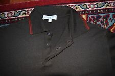 YVES SAINT LAURENT POUR HOMME MERINO EXTRA FINE WOOL PULLOVER SZ-FR-4/US-L
