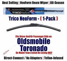 Qty 1 Super Premium NeoForm Wiper Blade fits 1970-1985 Oldsmobile Tornado 16180