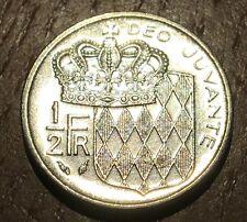 PIECE DE 1/2 FRANC RAINIER MONACO 1982 (171) 457000 EXEMPLAIRES SEULEMENT