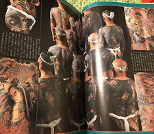1947 Tebori Tattoo Photo Book Rare Japanese Horimono Irezumi Shunga Bodysuit