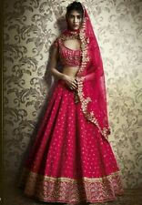 Indian Stylish Designer Bollywood Party Red Lehenga Choli Gown Salwar Suit Dress