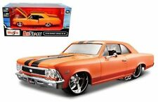 MAISTO 1:24 W/B CLASSIC MUSCLE - 1966 CHEVROLET CHEVELLE SS 396 DIECAST 31333OR