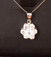 """Platinum Natural Stone 18 - 19.99"""" Fine Necklaces & Pendants"""