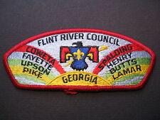 "BOY SCOUTS OF AMERICA FLINT RIVER COUNCIL CSP PATCH "" GRIFFEN, GEORGIA"