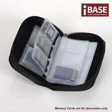Memory Card Storage Carrying Pouch Case Holder SD SDHC CF Micro TF Wallet Bag