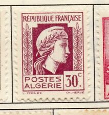 Algeria 1944 Early Issue Fine Mint Hinged 30c. 170602