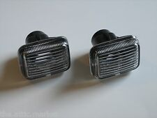 95-02 Range Rover / Discovery 1 Clear Side Marker Repeater Lights Set Genuine