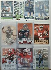 Russell Wilson 50 Card Football Card Lot SEAHAWKS 🔥 💥 RC, Inserts
