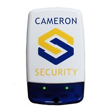 Dummy/Decoy Alarm Bell Box, dual Flashing LEDs & screen printed security logo