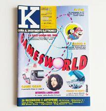 K guida al divertimento elettronico n°2 K25 febbraio 1991 rivista videogiochi