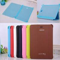 """New Ultra Slim Case Book Cover For Samsung Galaxy Tab A 8.0"""" SM-T350 T355 Tablet"""