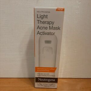 Light Therapy Acne Mask Activator ex 9/2020 NEW Factory Sealed