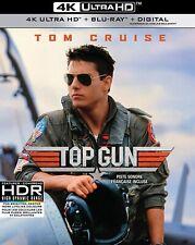 TOP GUN (1986) [4K ULTRA HD + Blu-ray + Digital]   New !!