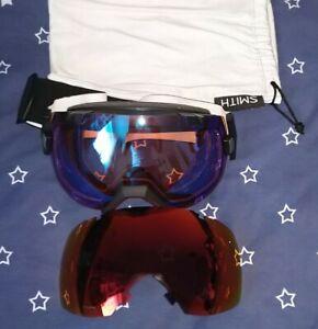Smith I/O X Chromapop Ski Snowboard Goggles Two lenses, Used for Two Trips