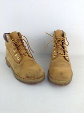 Womens timberland brown leather boots size Uk 5.5 Eu 39