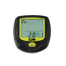 Wireless LCD Bike Computer Odometer Speedometer Cycle Bicycle Waterproof FTSS
