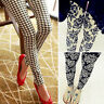 NUEVO de Mujer Estampado Elástico Suave Leggings cintura alta Pantalones