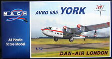 Mach 2 Models 1/72 Avro York Dan Air London