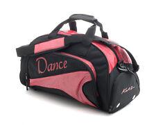 Medium Sparkly Red Dance Ballet Tap Kit Holdall Sports Bag KB92 By Katz