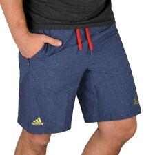 Adidas Herren Badeshorts Jeans Style Badehose Shorts Bermuda Capri Denim blau