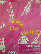 TUNES TO PLAY TOGETHER Vol.1 arr. Kenneth Pont BRASS PACK pub. OUP