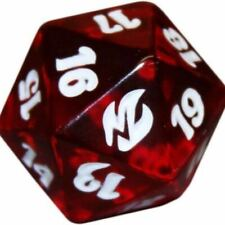 MTG Magic The Gathering Fire and Lightning Life Counter Die Dice Spindown D20