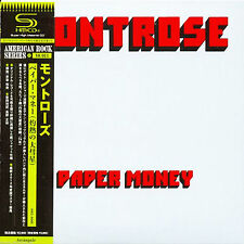 MONTROSE - PAPER MONEY - JAPAN MINI LP SHM CD - ARC-8068