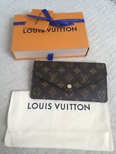 Louis Vuitton Monogram Jeanne Cartera De Lona 100% Genuino