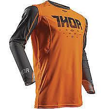 Men's Thor Prime Rohl Flo Orange/Grey Size Large