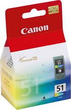 Canon Druckerpatrone Tinte CL-51 tri-color, dreifarbig