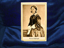 FLORENCE NIGHTINGALE Cabinet Card Photograph Vintage Photo A++ CDV