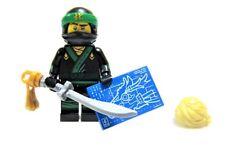 LEGO SEALED NINJAGO MOVIE Series 71019 Lloyd Green Ninja Dragon Katana Minifig