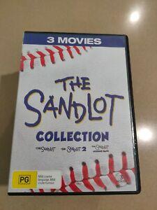 The Sandlot Collection  DVD  3 movies, 2 disc set              Region 4