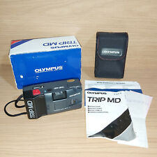 Olympus Trip MD 35mm Point & Shoot Camera Vintage 80's Lomo Boxed Tested Working